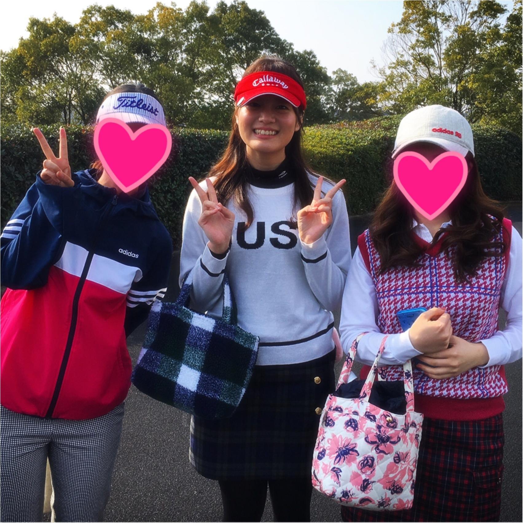 【GOLF】ゴルフでファッションを楽しむ♡秋晴れの中ラウンドしてきました!_5
