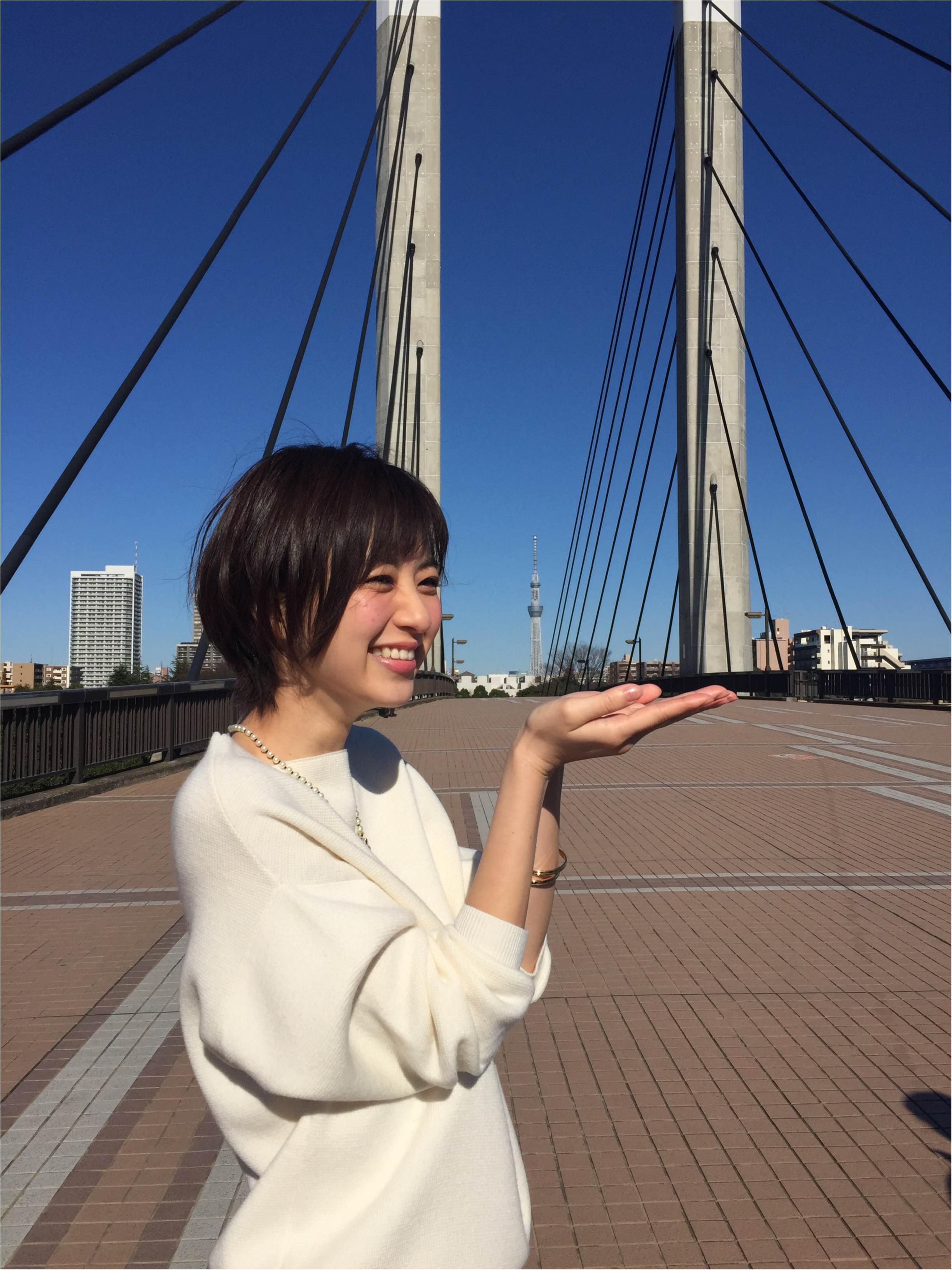 【オフショット】逢沢りなのスカイツリーポーズ♡_3
