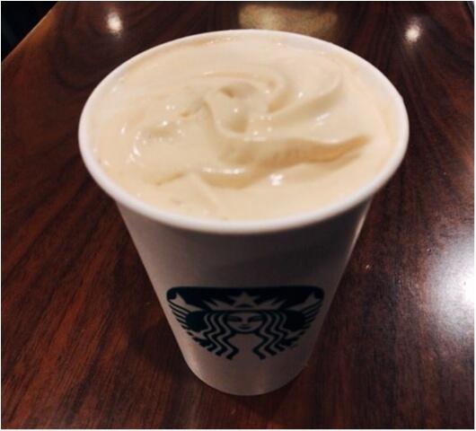【スタバ幻のラテ】《コーヒー&クリームラテ》って知ってる!?出会えたら超ラッキーなレアドリンクに出会えることができました★_3
