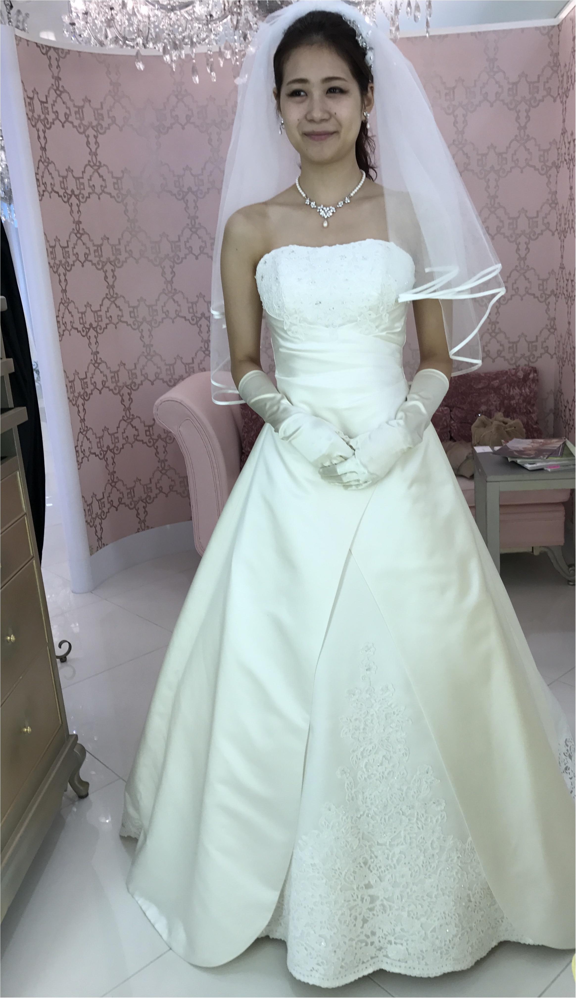 ドレス試着レポ♡4種のデザインで印象はかなり変わる!_1