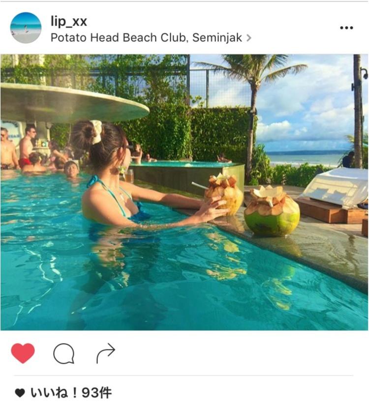 【TRIP】海にプールに音楽に!BARにFOODにSunSet!ロケーション抜群のPOTATO HEAD BEACH CLUB❤︎後編_3