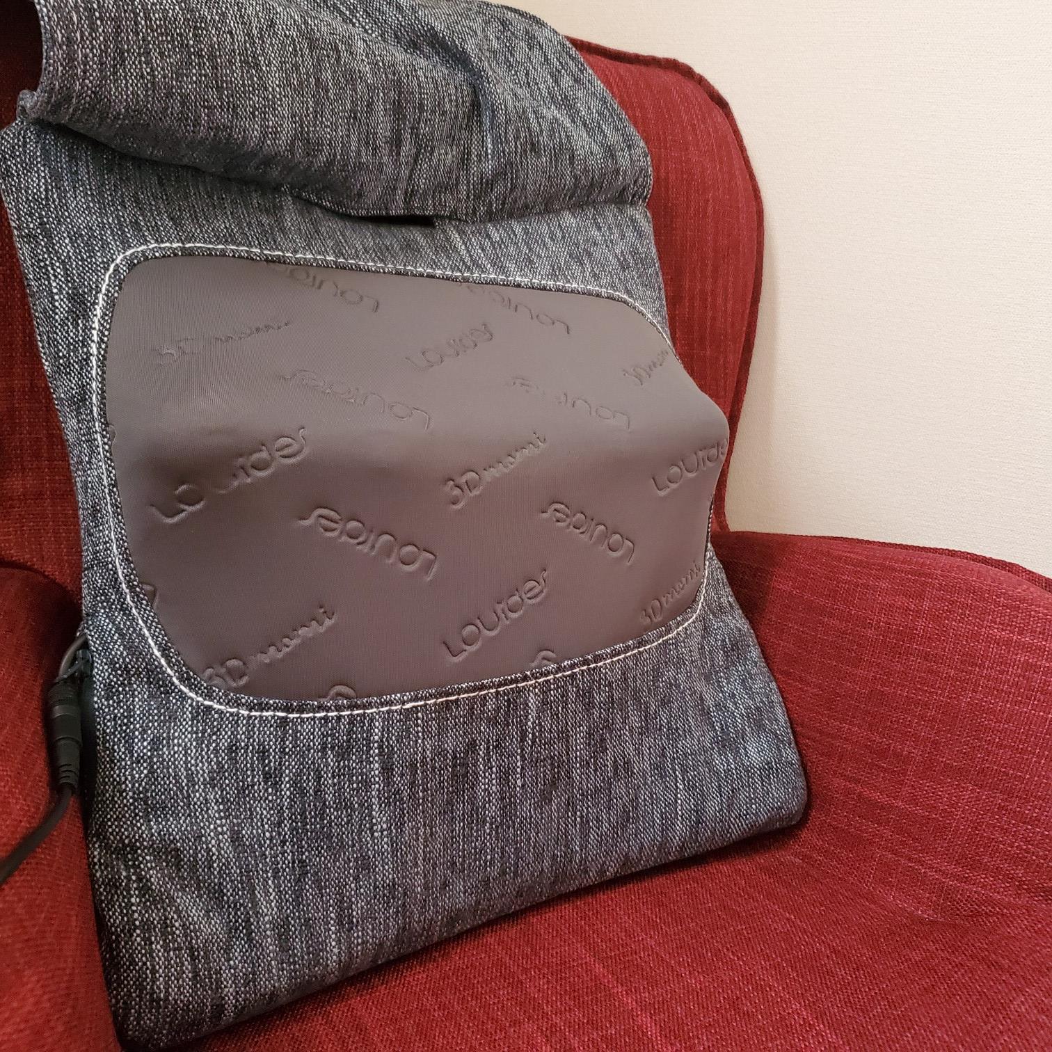 クッション型マッサージ家電【Francfranc】3Dもみで腰・肩こりを解消!_2