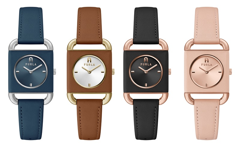 フルラの新作時計、4色の正面画像