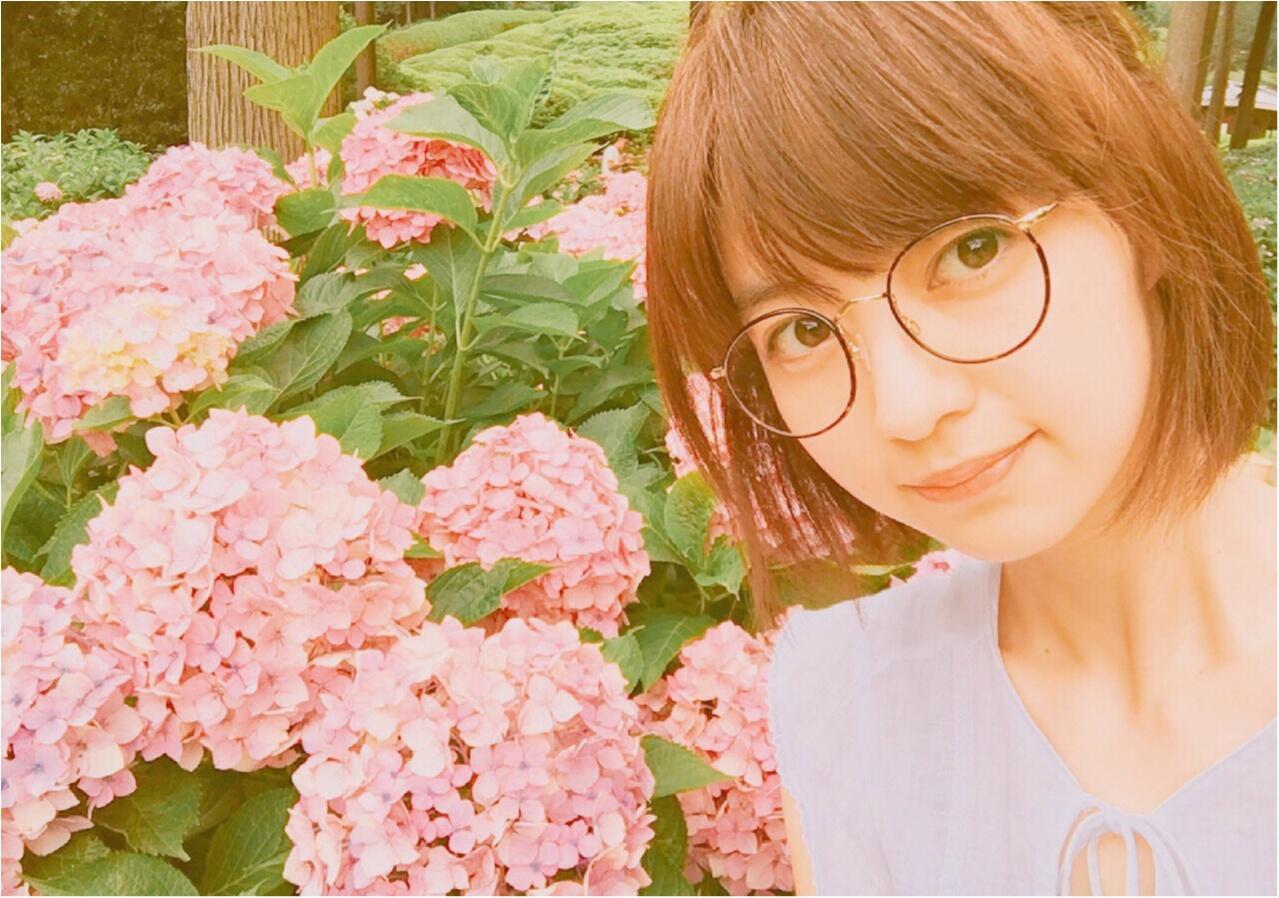 逢沢りなちゃんの休日@京都のあじさい庭園_1