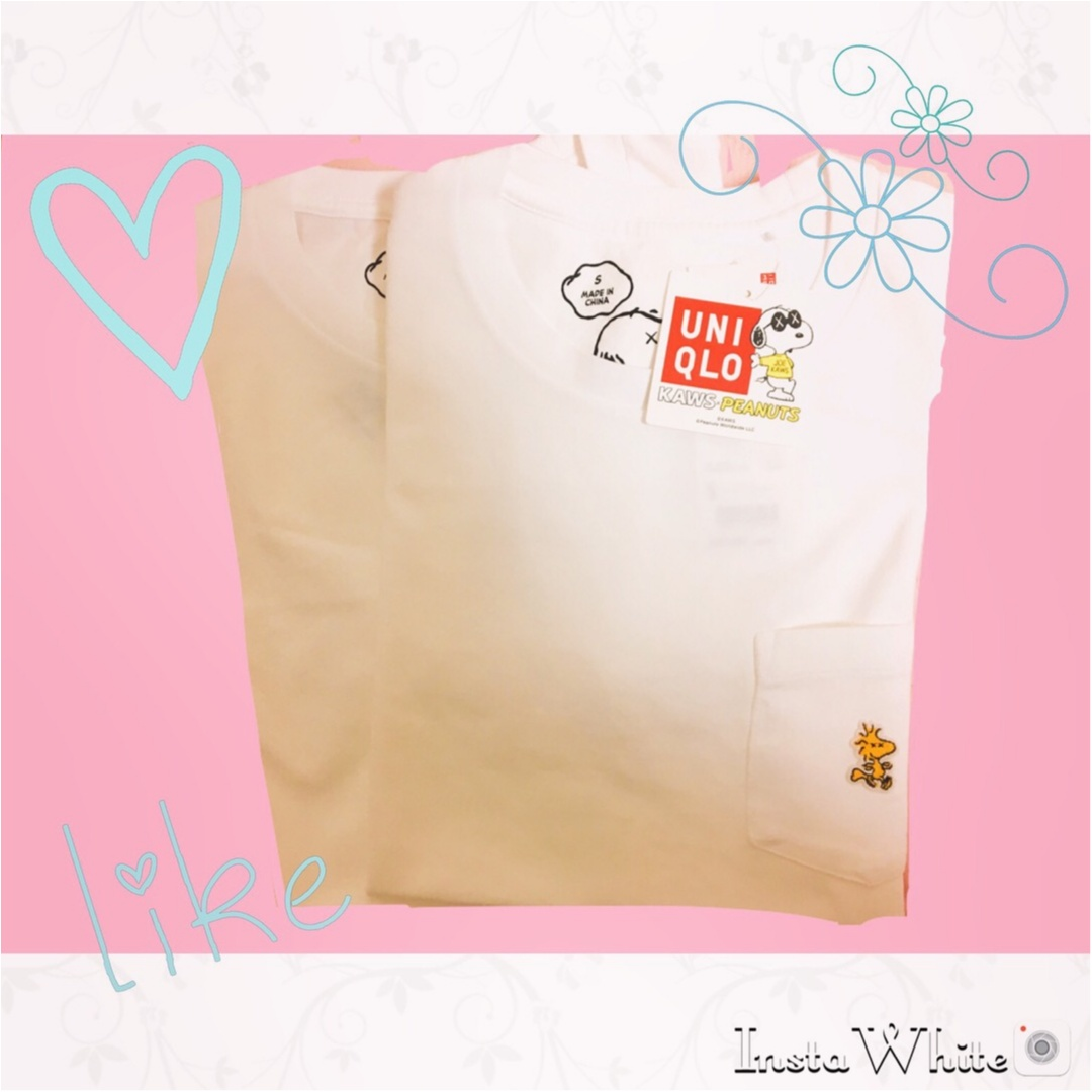 【UNIQLO】着まわし抜群のユニクロのメンズTシャツ♡《スヌーピー》のワンポイントがかわいい❤︎_2