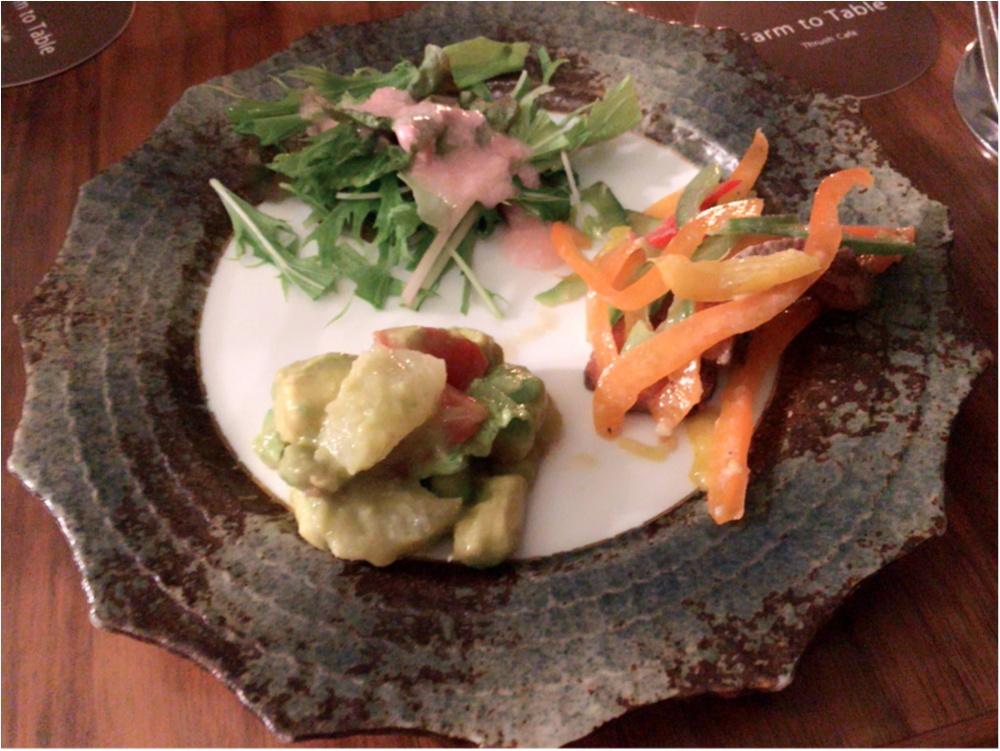 八芳園 Dinner♡Thrush Cafe_2