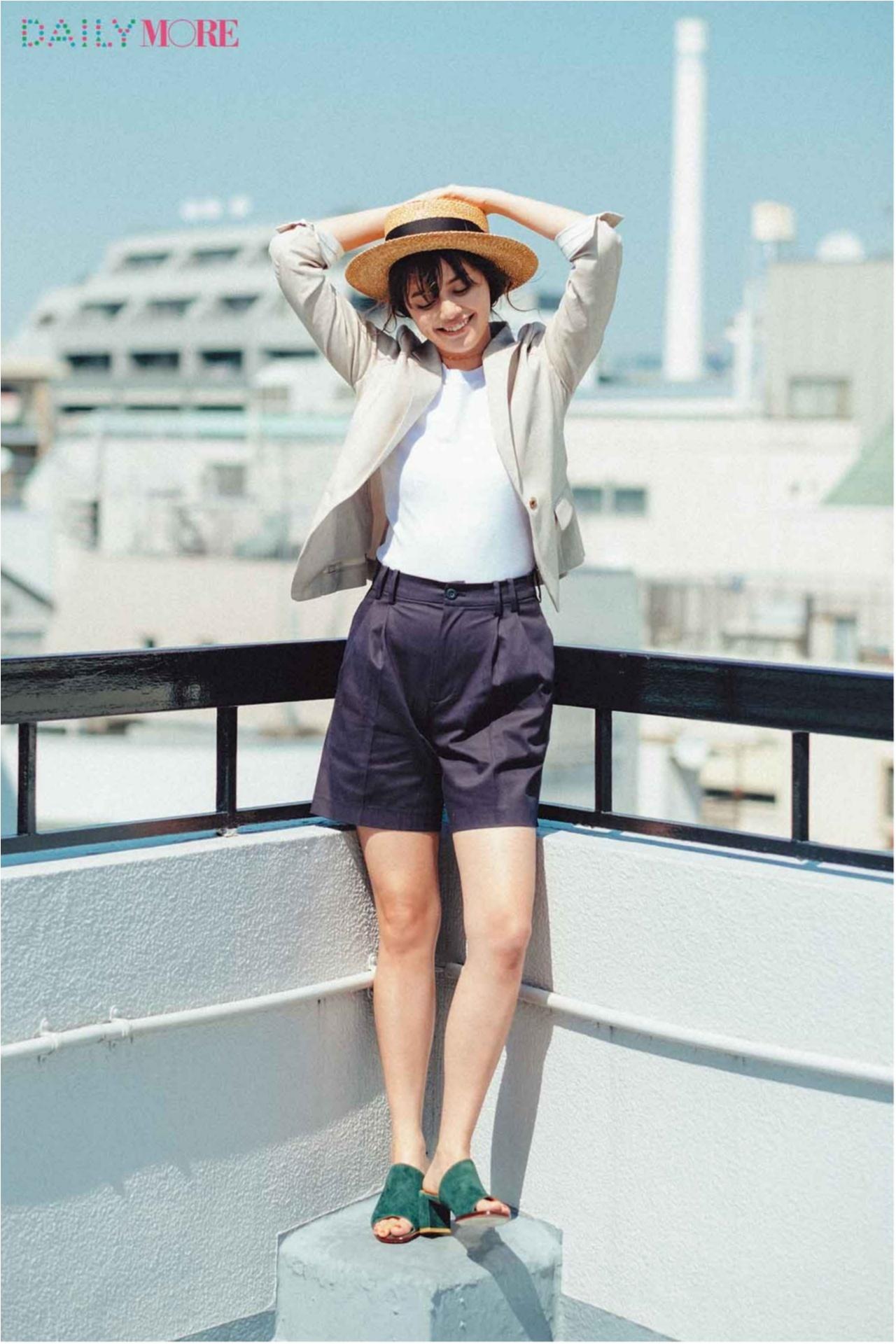 いつもの服が一気にフレンチムードに♪ お茶目な「カンカン帽」コーデまとめ♡_1_4