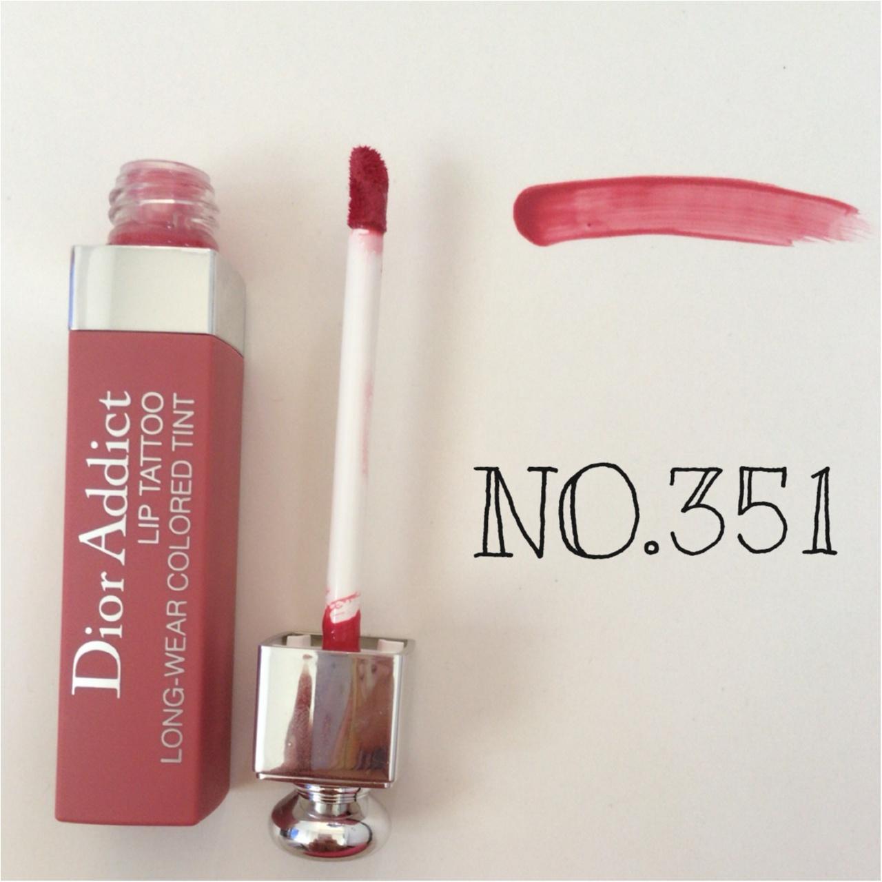 """暑さに負けない!落ちない!Dior Addict LIP TATTOOで""""キスプルーフ""""な夏メイク♡_3"""
