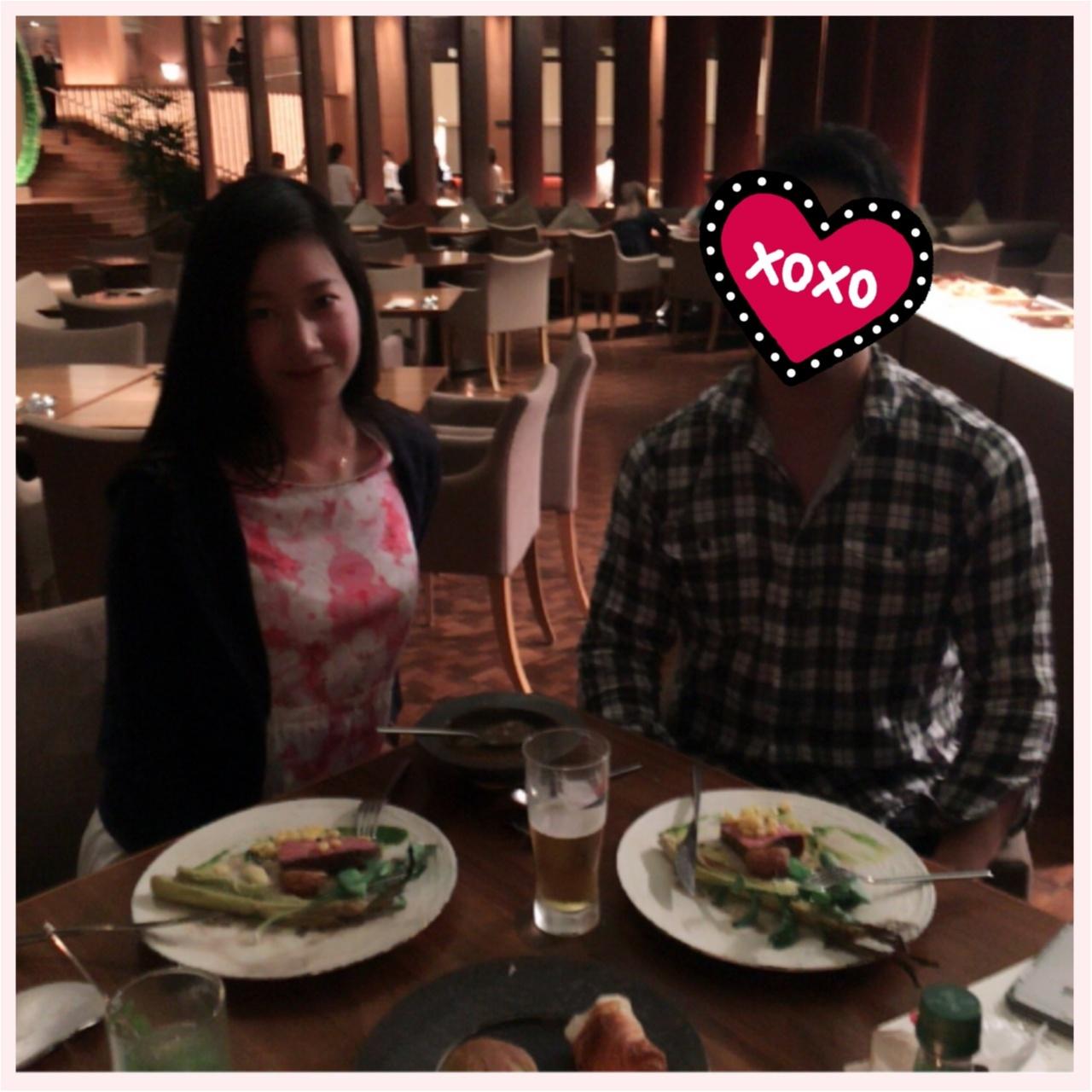 八芳園 Dinner♡Thrush Cafe_1
