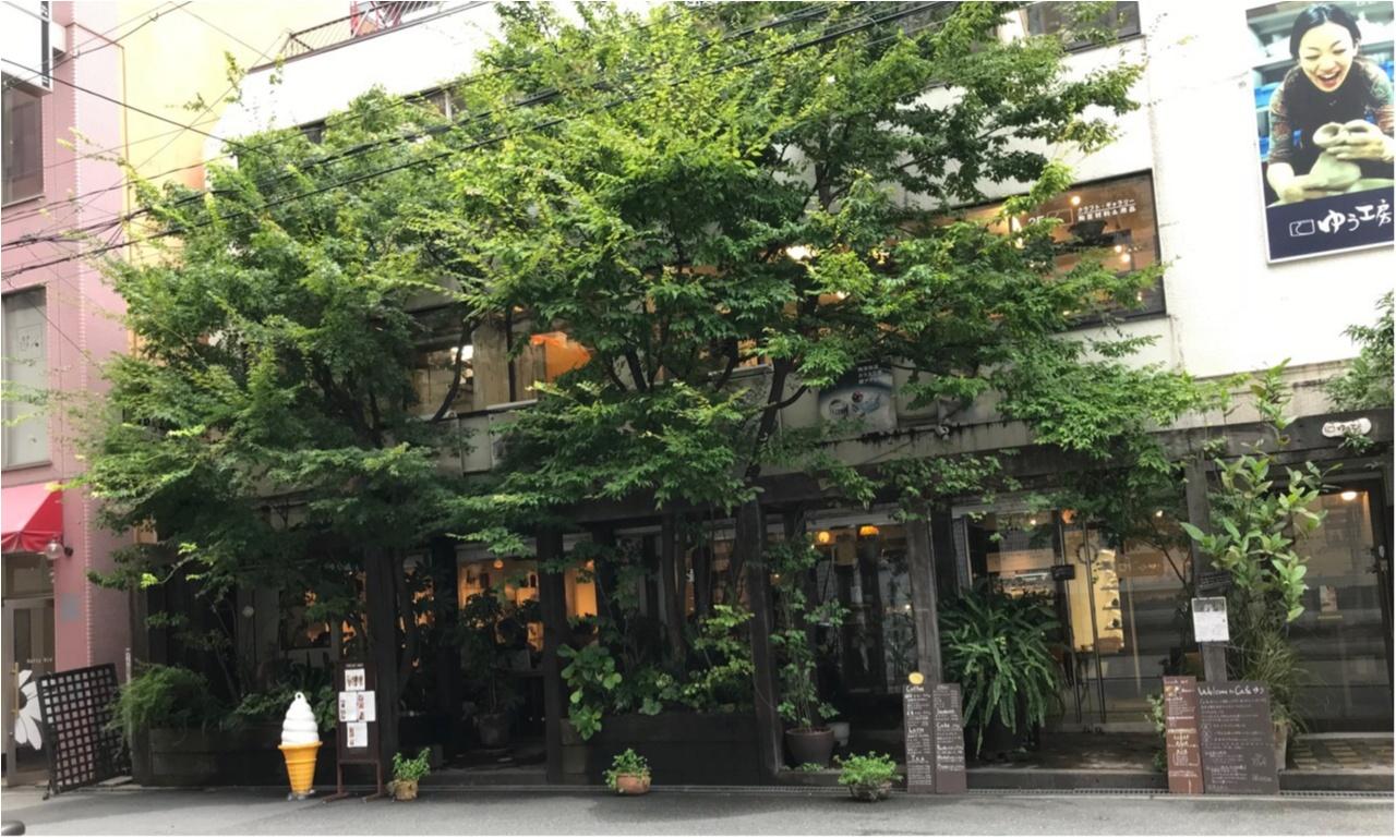 【大阪】緑が生い茂る都会のオアシス♡うつわcafe♡_9