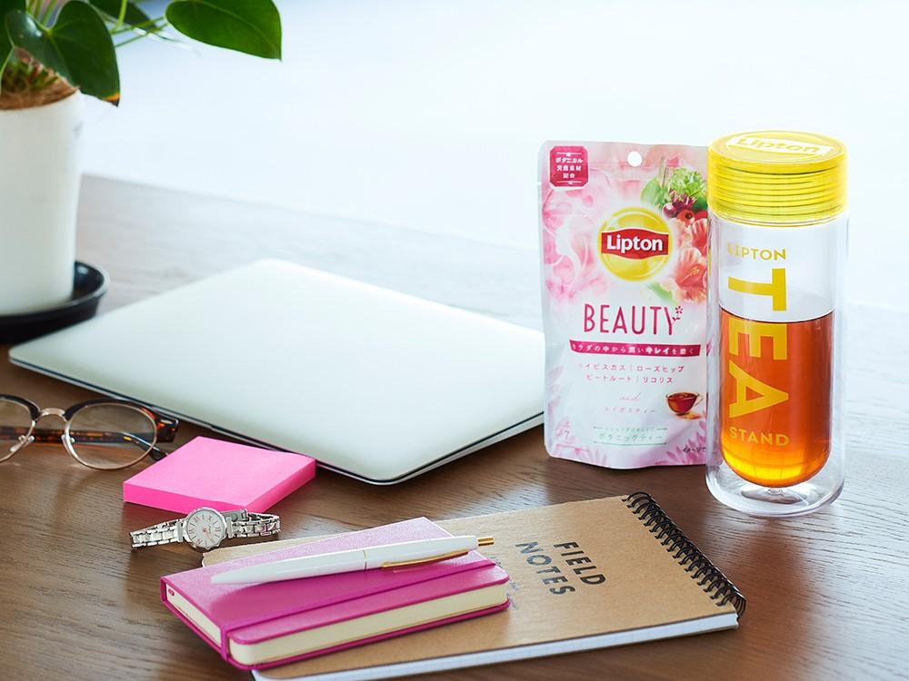 インナーボタニカル×キレイを磨くルーティン! 『リプトン ボタニックティー』で、果物や花など「ボタニカル」成分を美の味方に♡_5