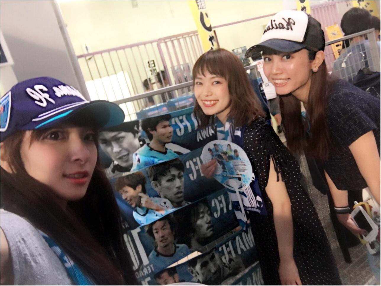 ♡サッカー観戦×モアハピ女子会(*>ω<*)‼︎【横浜FC】♡モアハピ◡̈のぞみ♡_8