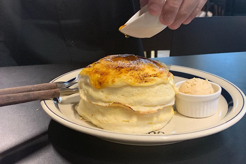 とろっふわっの極限♡甘党なら絶対食べるべき「eggg」のパンケーキが新食感すぎた_3