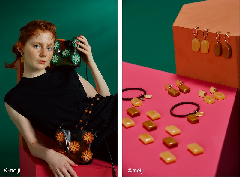 『ロペピクニック』×『チェルシー』コラボアイテムを着用した画像