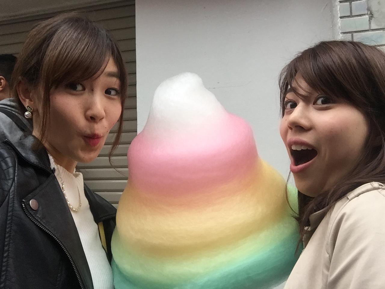 【FOOD】外国人にも大人気!「 sweet xo 」原宿竹下の巨大カラフルわたあめ♡_4