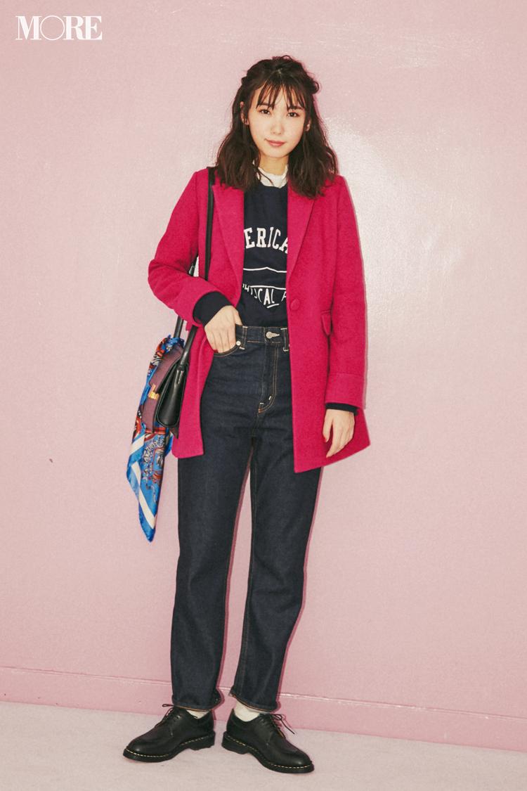 【今日のコーデ】ピンクのジャケットが似合う自分になんだか満足☆コーデも気分もリフレッシュ!_1