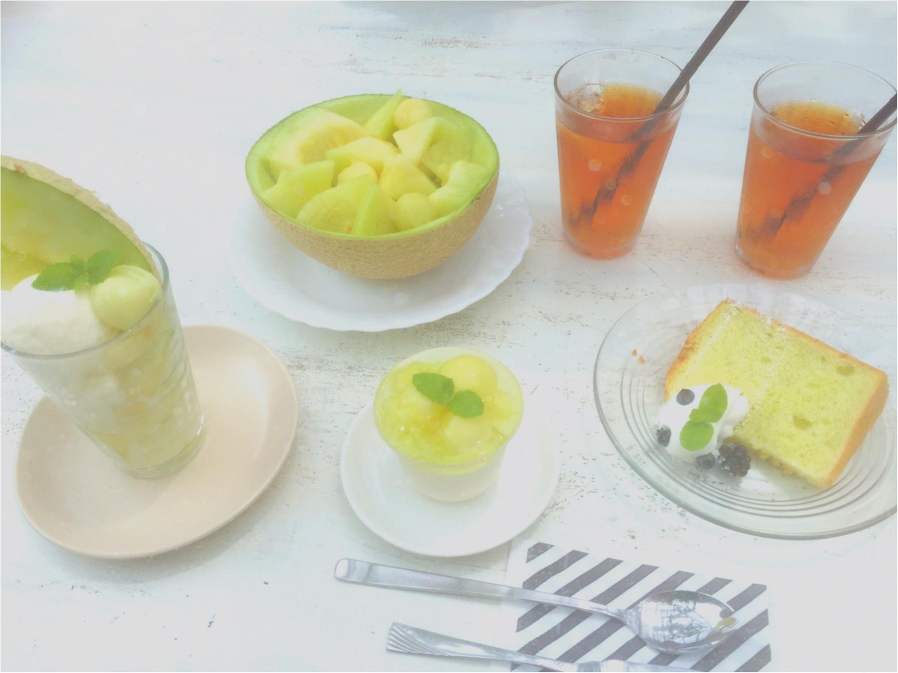 メロン好きは必見♡【名倉メロン農場】のメロンづくしのカフェに行ってきました♡_3