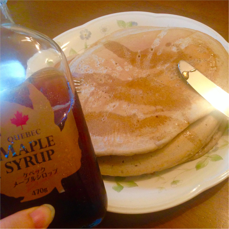 甘酒で作るパンケーキ❤️週末はパンケーキ?お休みの日はのんびり。パンケーキモーニングを♡ _10