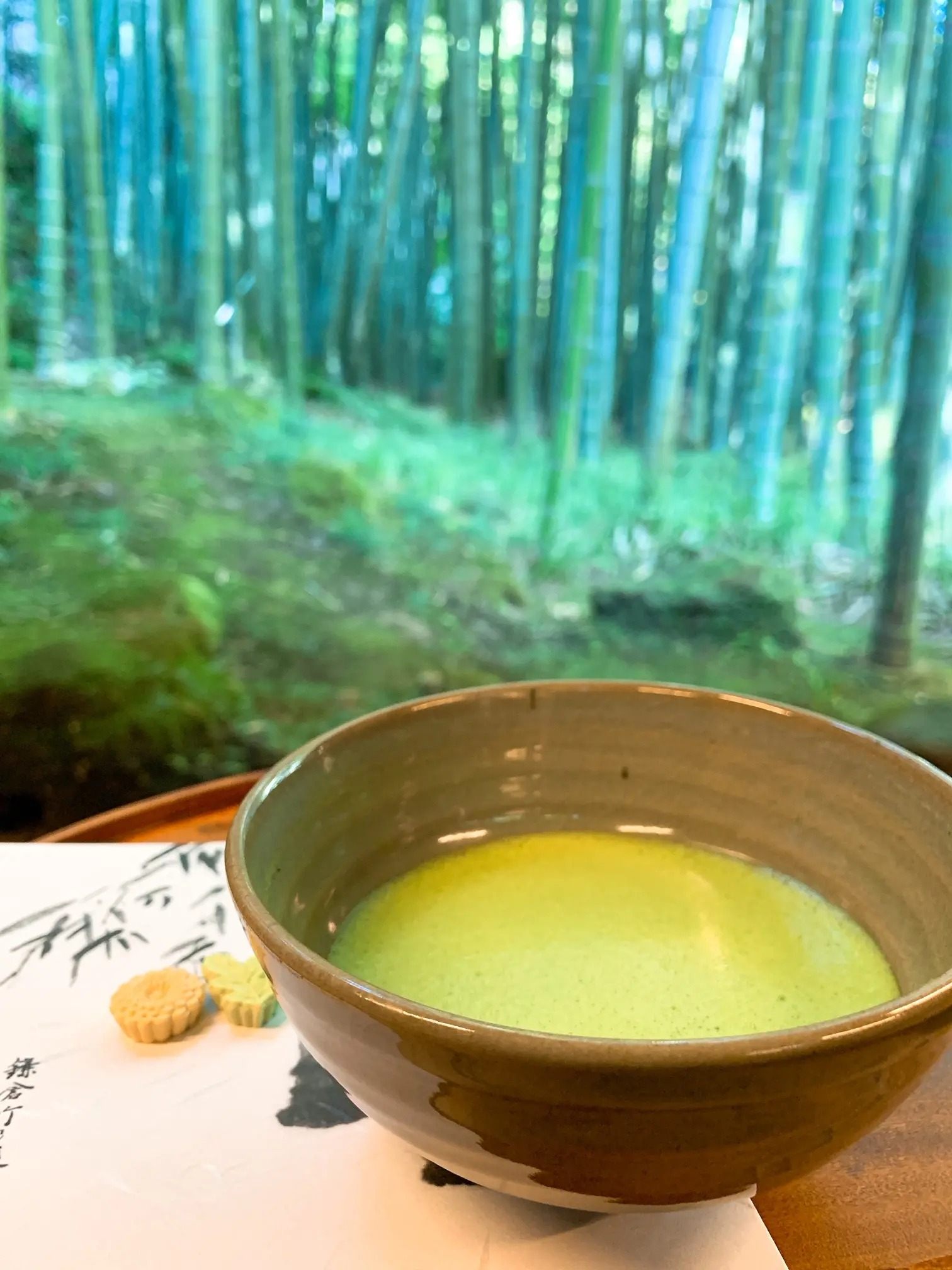 報国寺の竹の庭にある『休耕庵』