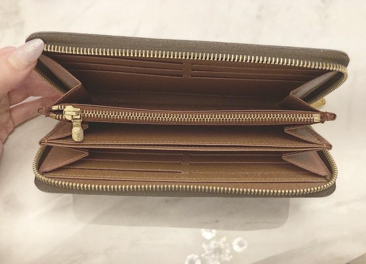 【20代女子の愛用財布】LOUIS  VUITTONの長財布×COACHのミニ財布を使い分け♡_3