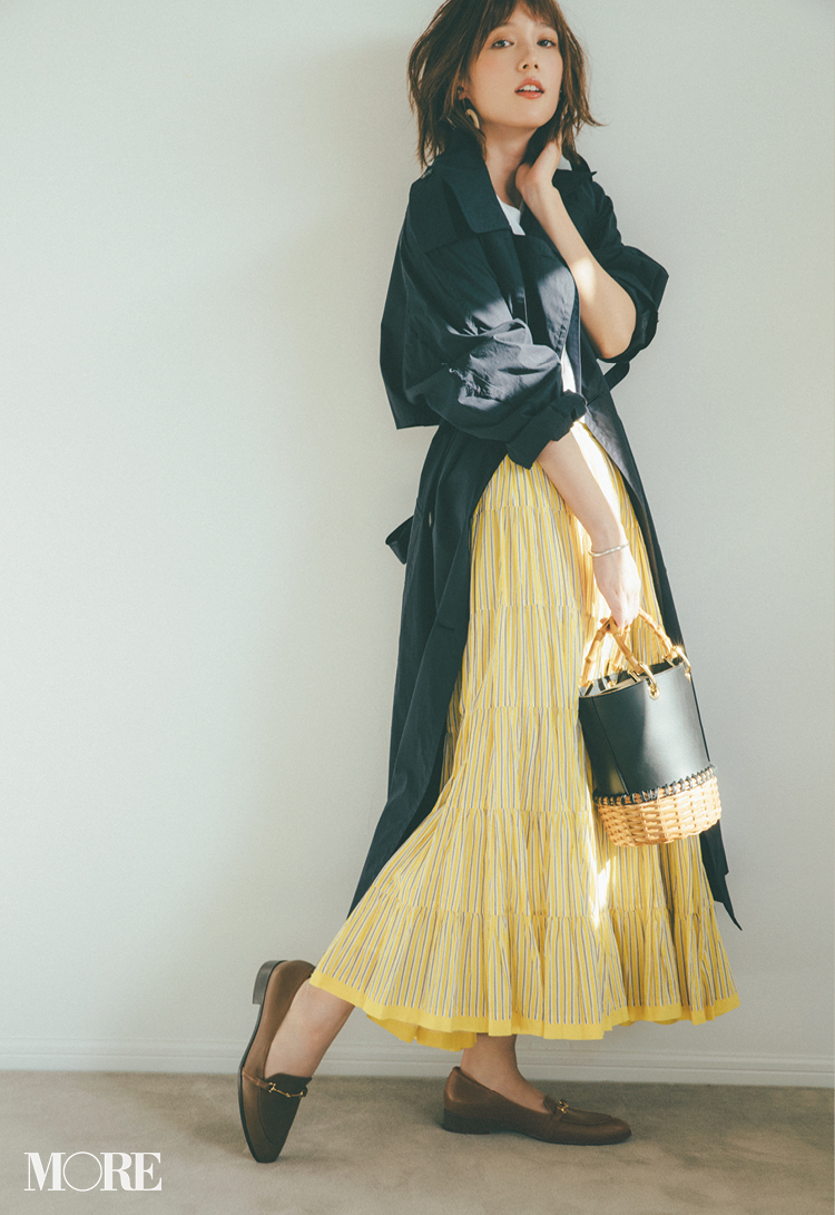 ロング丈スカート、正解バランス最新版! 今っぽくはくにはどうしたらいいの?_1_5