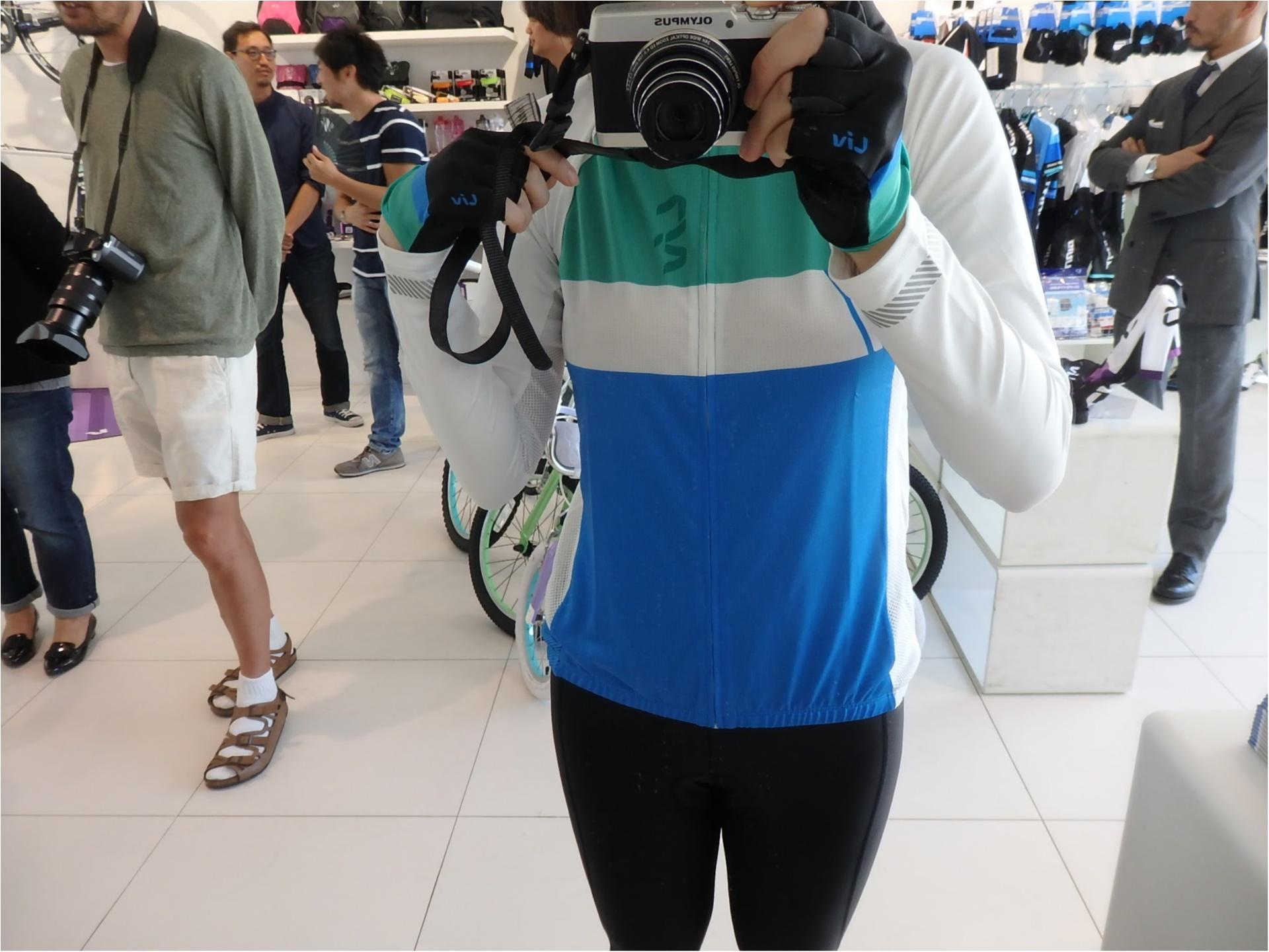 """世界初の女性向け自転車ブランド""""Liv""""でわくわくのウエア合わせ 【#モアチャレ あかね】_7"""