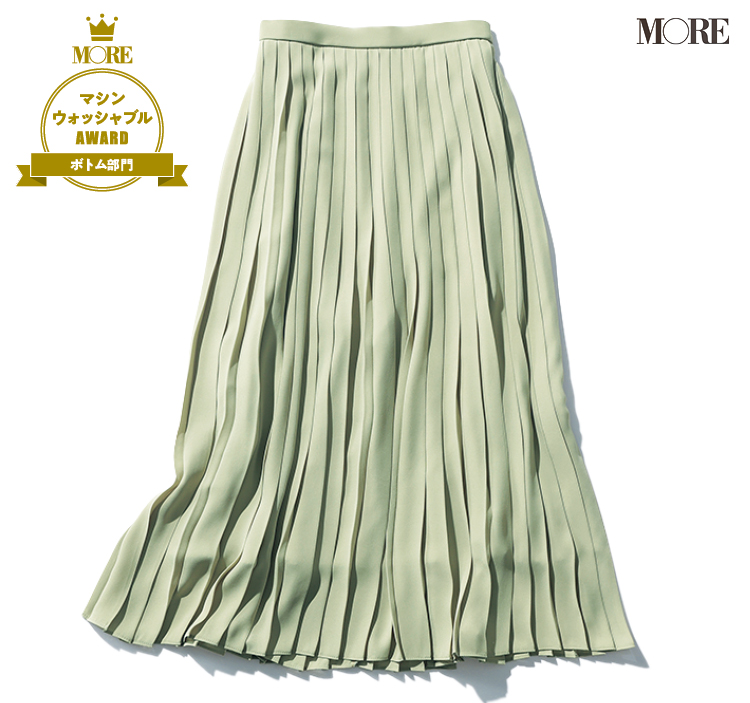 ユニクロのスカートがマシンウォッシャブル服アワードスカート部門を受賞