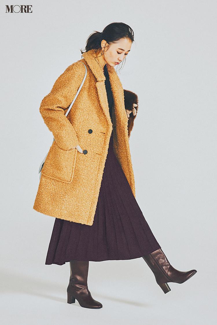 【今日のコーデ】<鈴木友菜>気温がぐっと下がったらクラシカルコーデに似合う冬コートの出番!_1