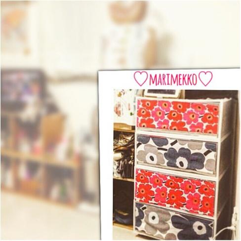 《DIYにもトライ★》marimekko(マリメッコ)のインテリアでお部屋を明るく♡!_4