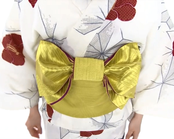 【わかりやすい動画付き】浴衣のセルフ着付け・帯の結び方 - 一人でできる! 女性の浴衣の着方は?_70