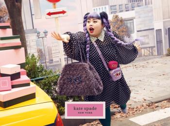 『ケイト・スペード ニューヨーク』×渡辺直美さんコラボコレクション発売中! 華やかバッグをホリデーのおともに
