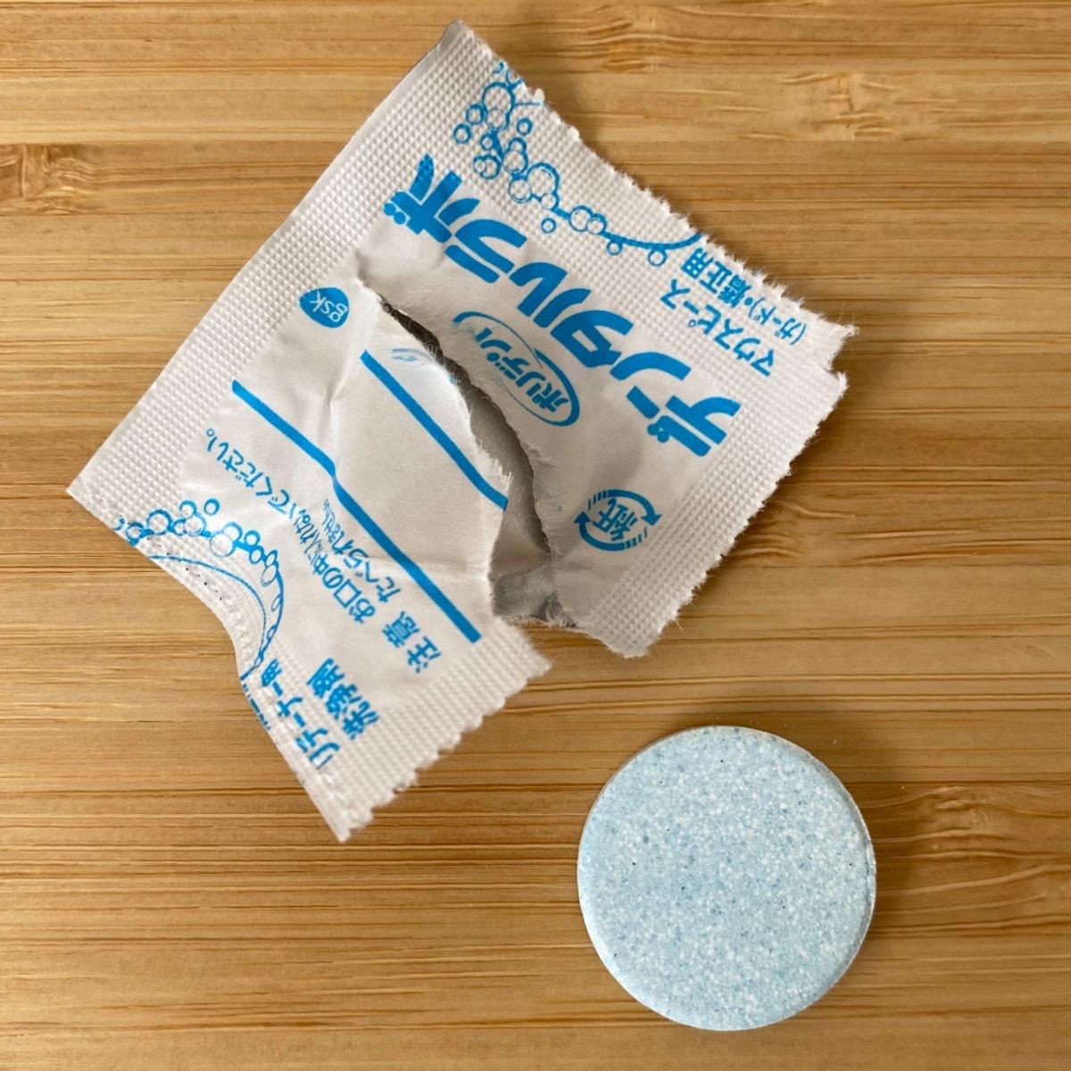 「ポリデント デンタルラボ マウスピース(ガード)・矯正用リテーナー用洗浄剤」