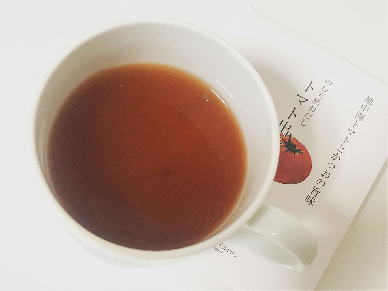 雅結寿の「トマトドリップ」を淹れたカップ