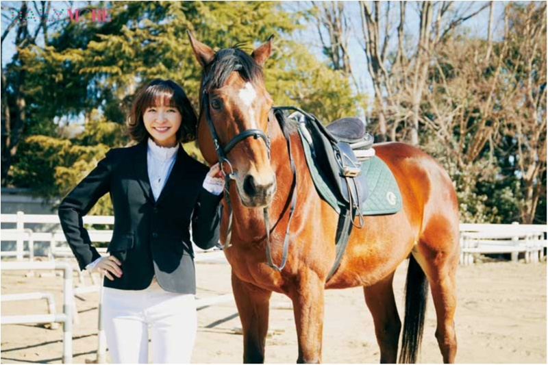 篠田麻里子もおすすめ♡ 『乗馬クラブクレイン』で、体験乗馬!【麻里子のナライゴトハジメ】_1