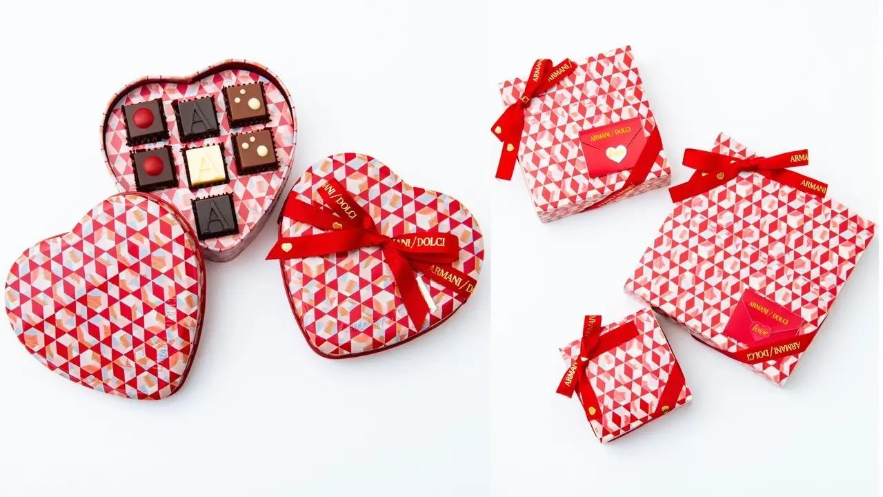 2021バレンタインのアルマーニドルチの限定チョコ