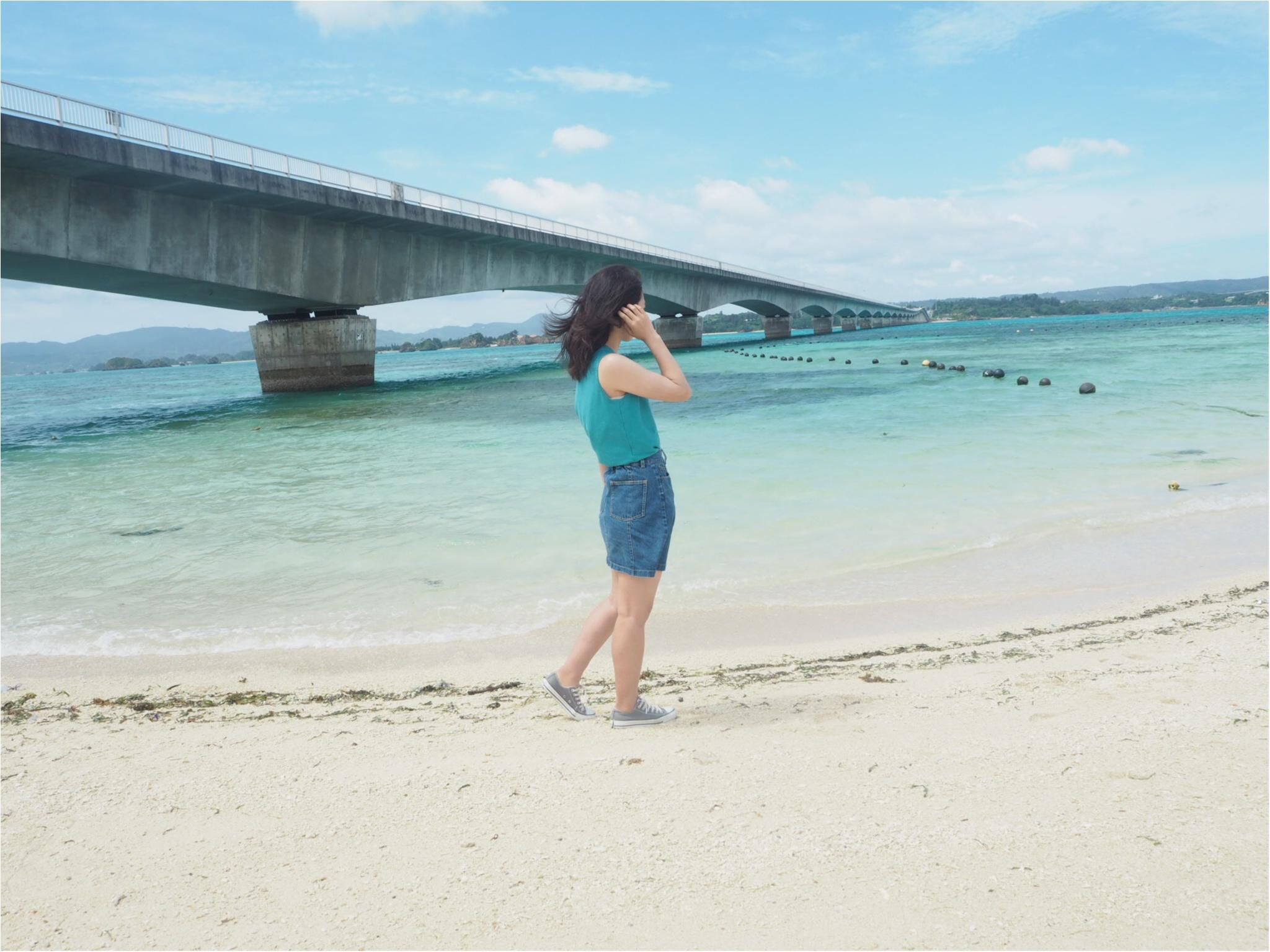 """【沖縄旅Part.②】車がなくても""""超""""充実できちゃう女子旅♡沖縄の綺麗な景色にとっても癒されました〜✴︎_5"""