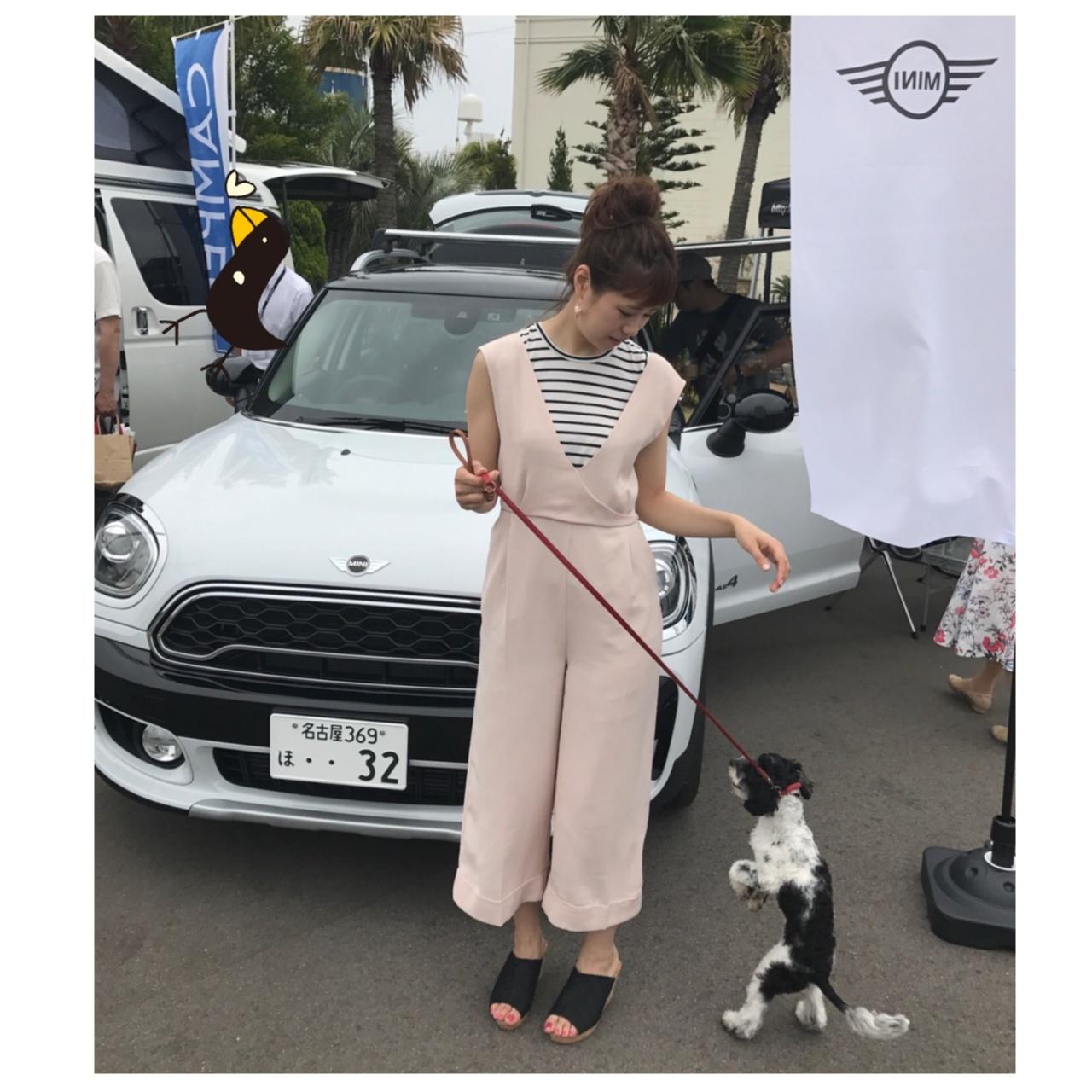 【コーデ】きれいめカジュアルコーデで愛犬とわんこマルシェへ♡_1