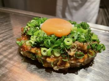 コスパ最強な創作鉄板焼き!高級食材を使用したフルコースが5,500円で〆は至高のお好み焼き。