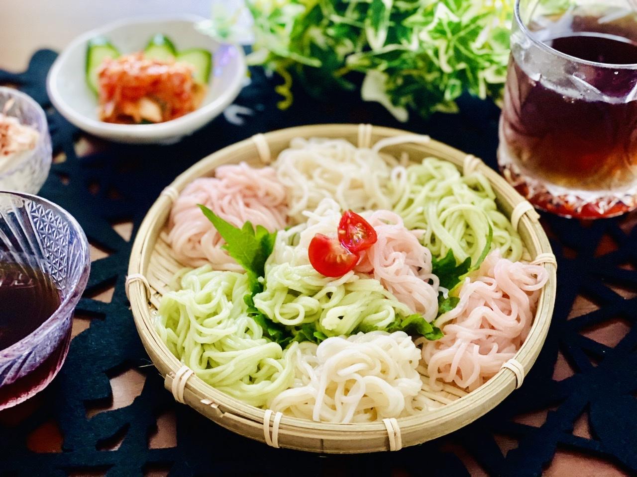 【おうちごはん】いつもの素麺に飽きたときはコレ!《カラフル素麺》で食卓がパッと華やかに♡_5