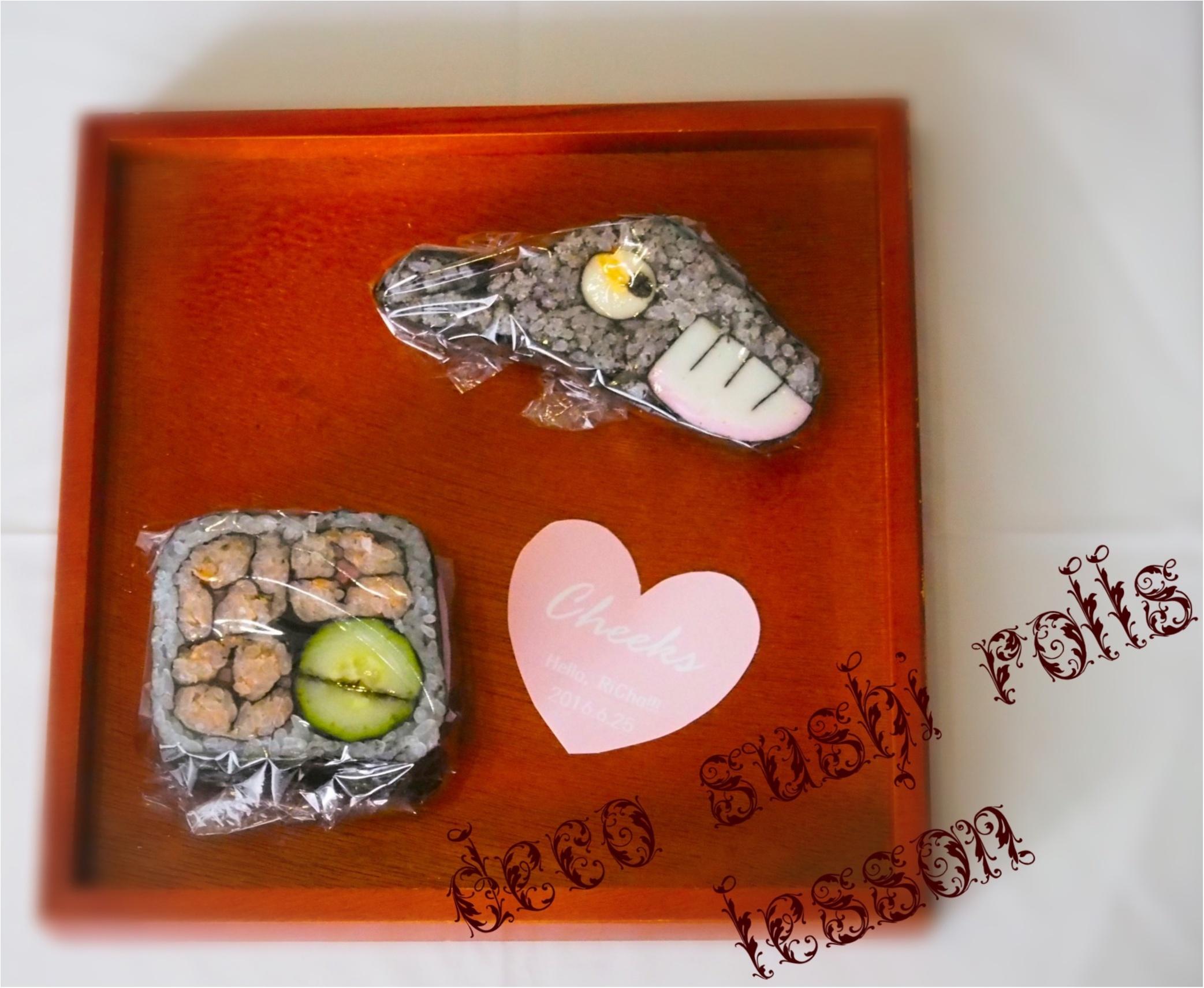 デコ巻き寿司インストラクター♡さちこ♡に習う季節を感じられる絶品デコ巻き寿司( ´ ▽ ` )ノ_11