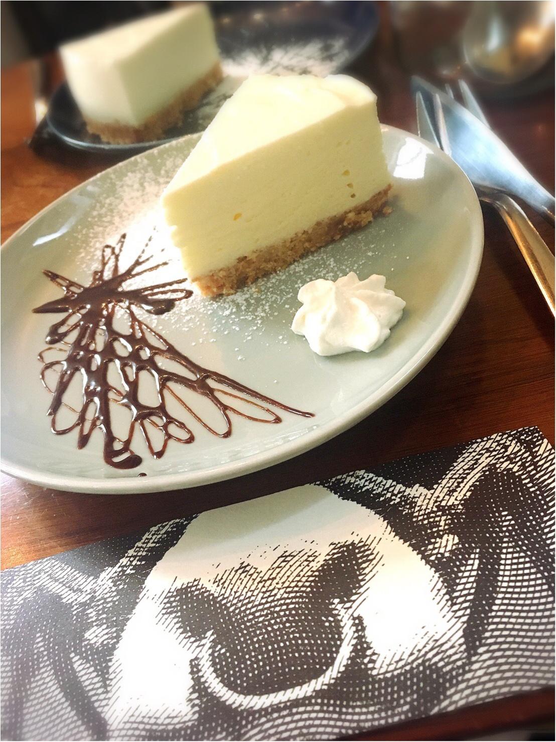 もお〜うまいもぉ♡【三軒茶屋】チーズケーキ専門店に初めていってみた♡_5_2