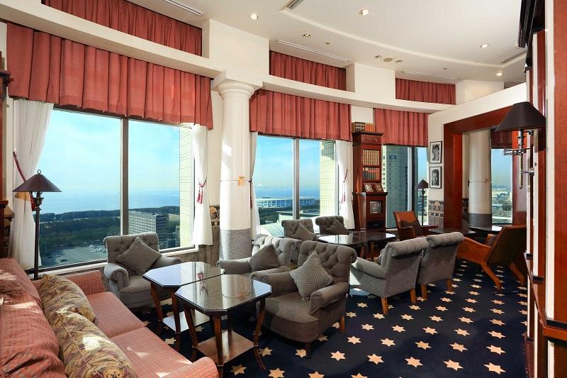 千葉おしゃれホテルのホテル ザ・マンハッタンのラウンジ「スプレンディド」内観