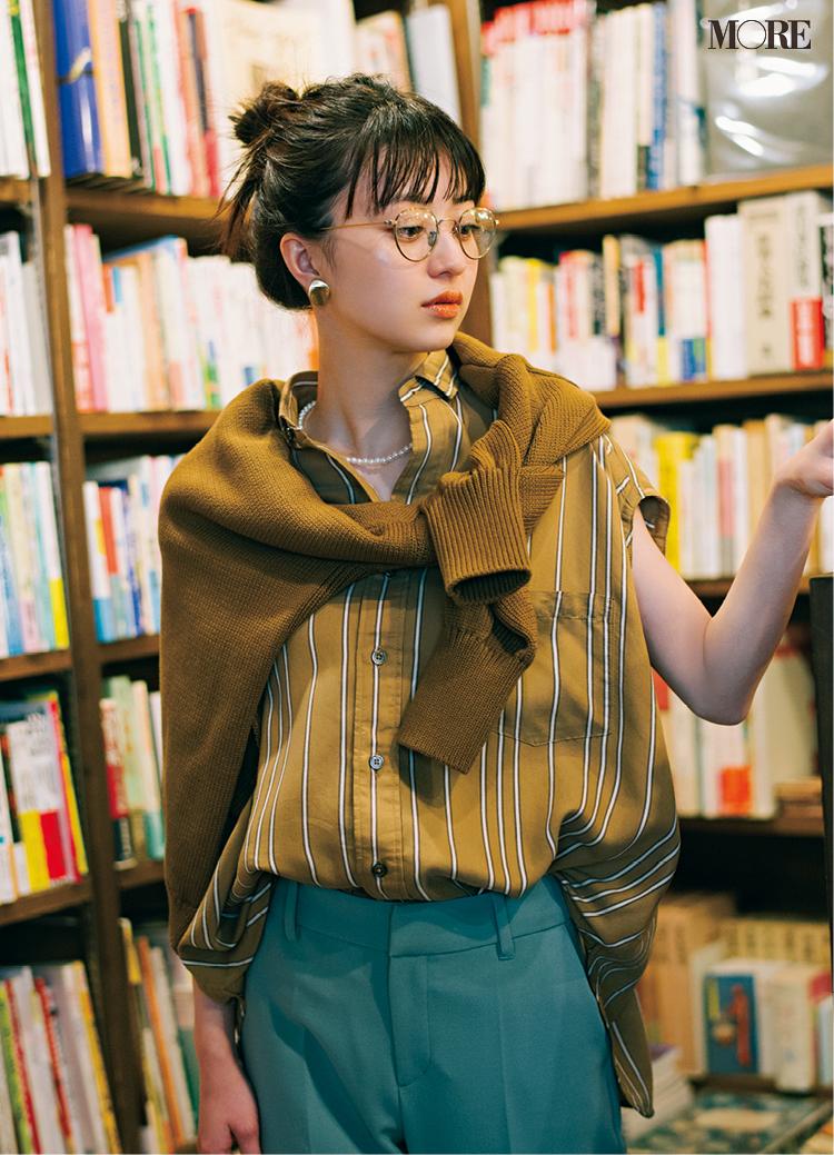 メガネ×服の相性、気にしてる? このメガネにはこのコーデ、好相性なものだけ集めました☆_3