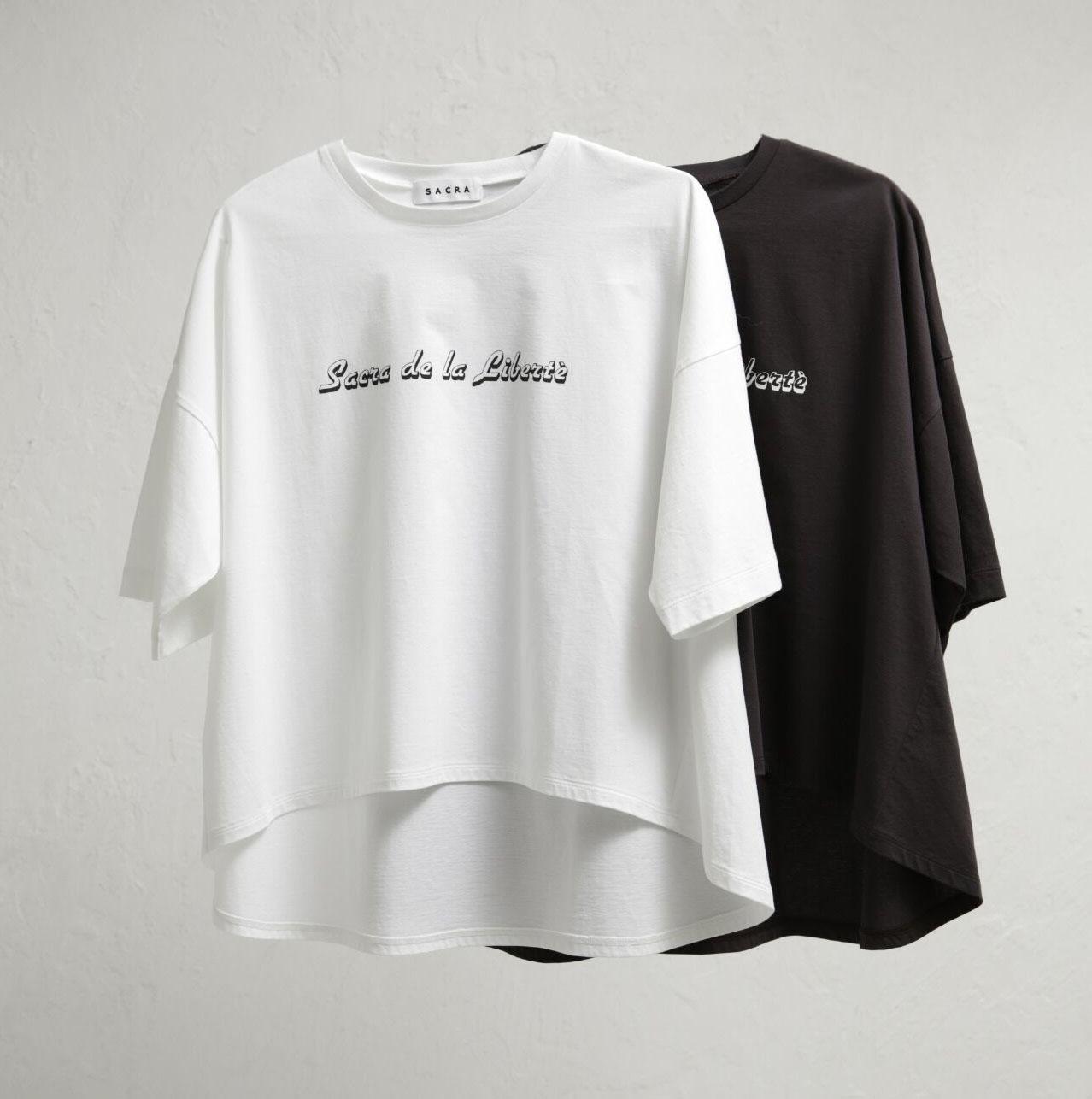 《Twitter フォロー&RTで応募》人気のレディースブランド『SACRA』のオリジナルロゴTシャツを2名様に♡__1