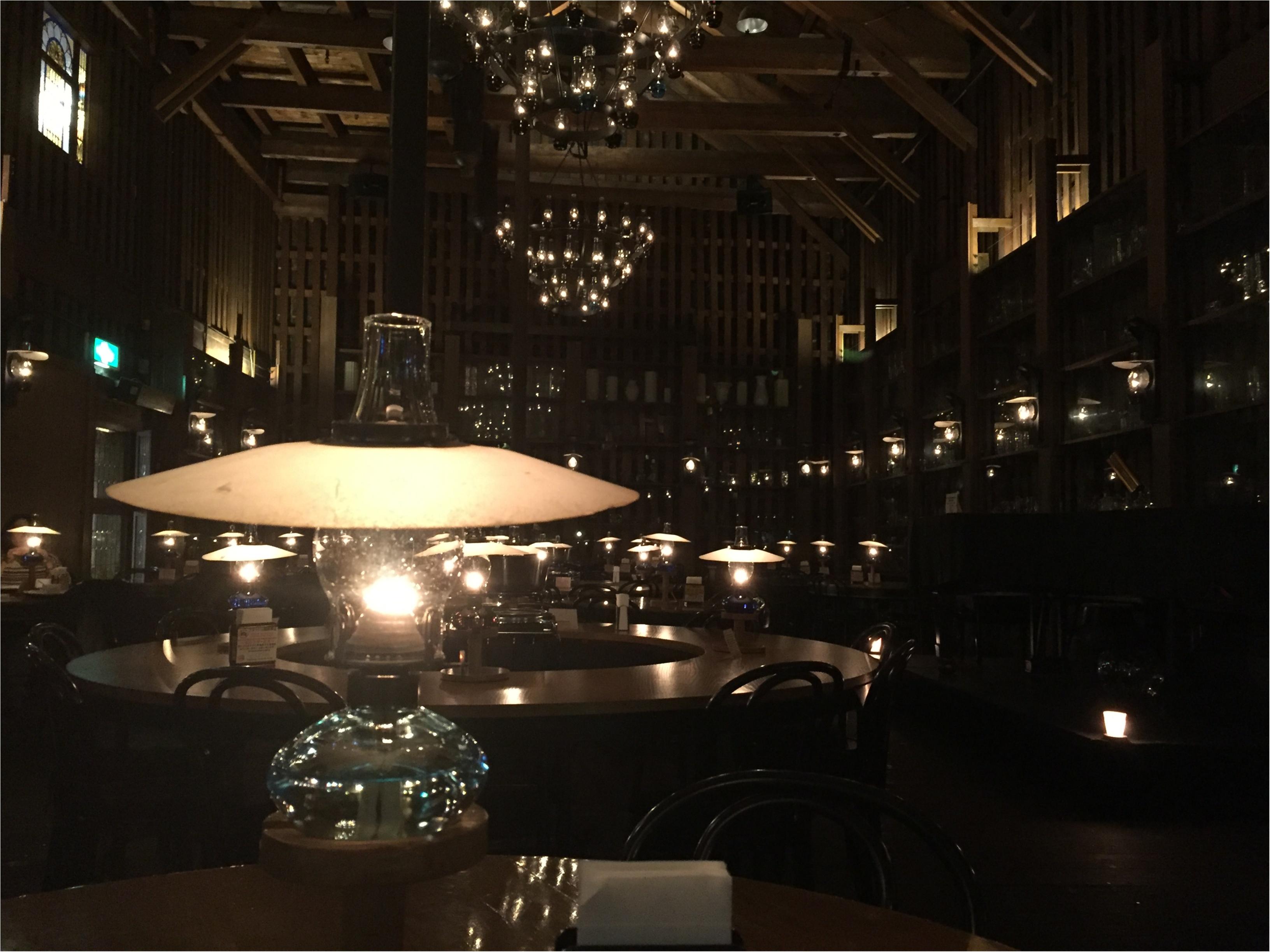 【小樽カフェ】石油ランプが灯る幻想的な世界へ!!_2