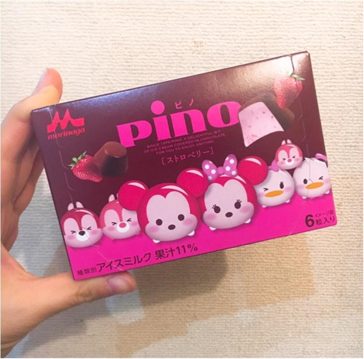 【pino×ツムツム】冬だってアイスが食べたい♡ 今だけ限定!pinoのツムツムコラボ♡_1