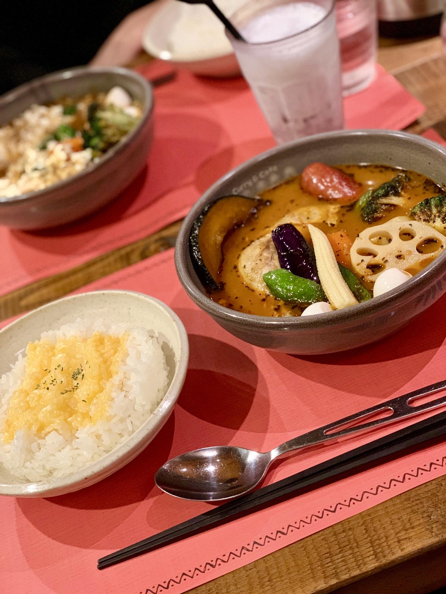《札幌発の人気店❤️》東京•神田【Curry&Cafe SAMA】の絶品!スープカレー☻_2