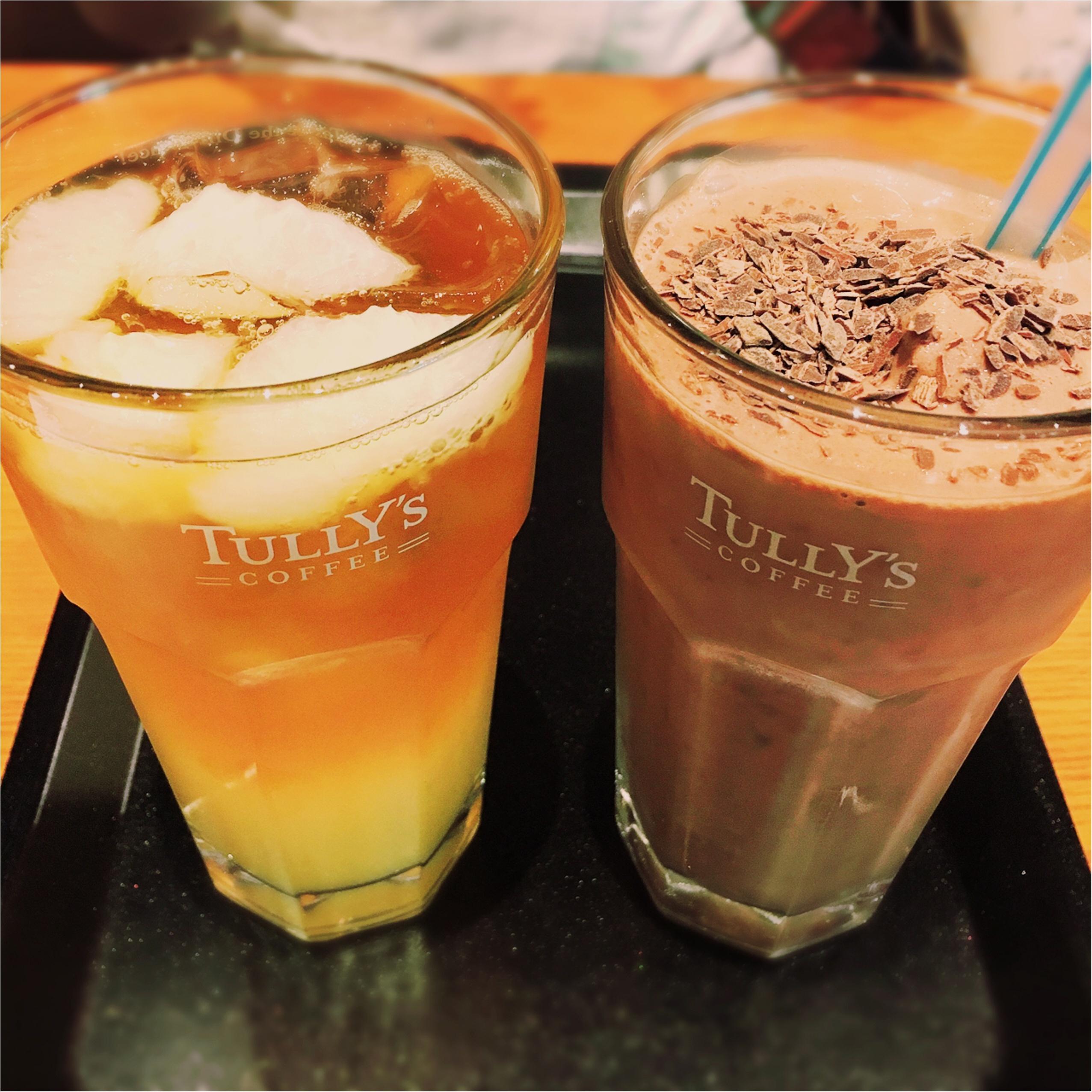 夏チョコの新定番⁈ また飲みたくなる❤️【TULLY'S】チョコリスタ!!!_4