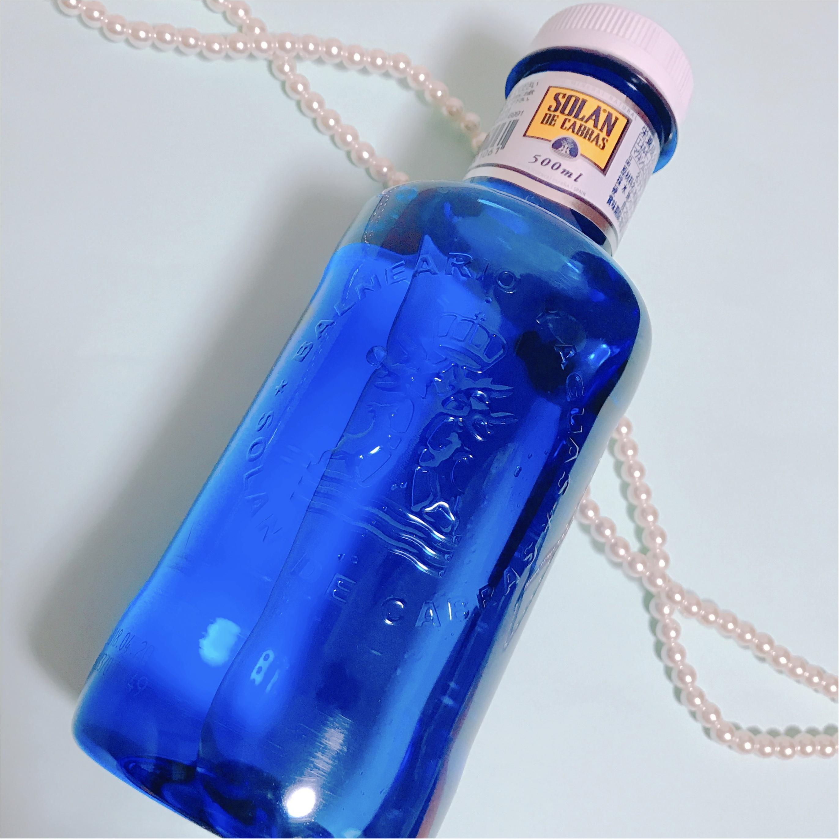 《SNSで話題沸騰中‼︎》噂の【ピンクの水】ソラン・デ・カブラスの限定ピンクボトルが可愛すぎる♡_1