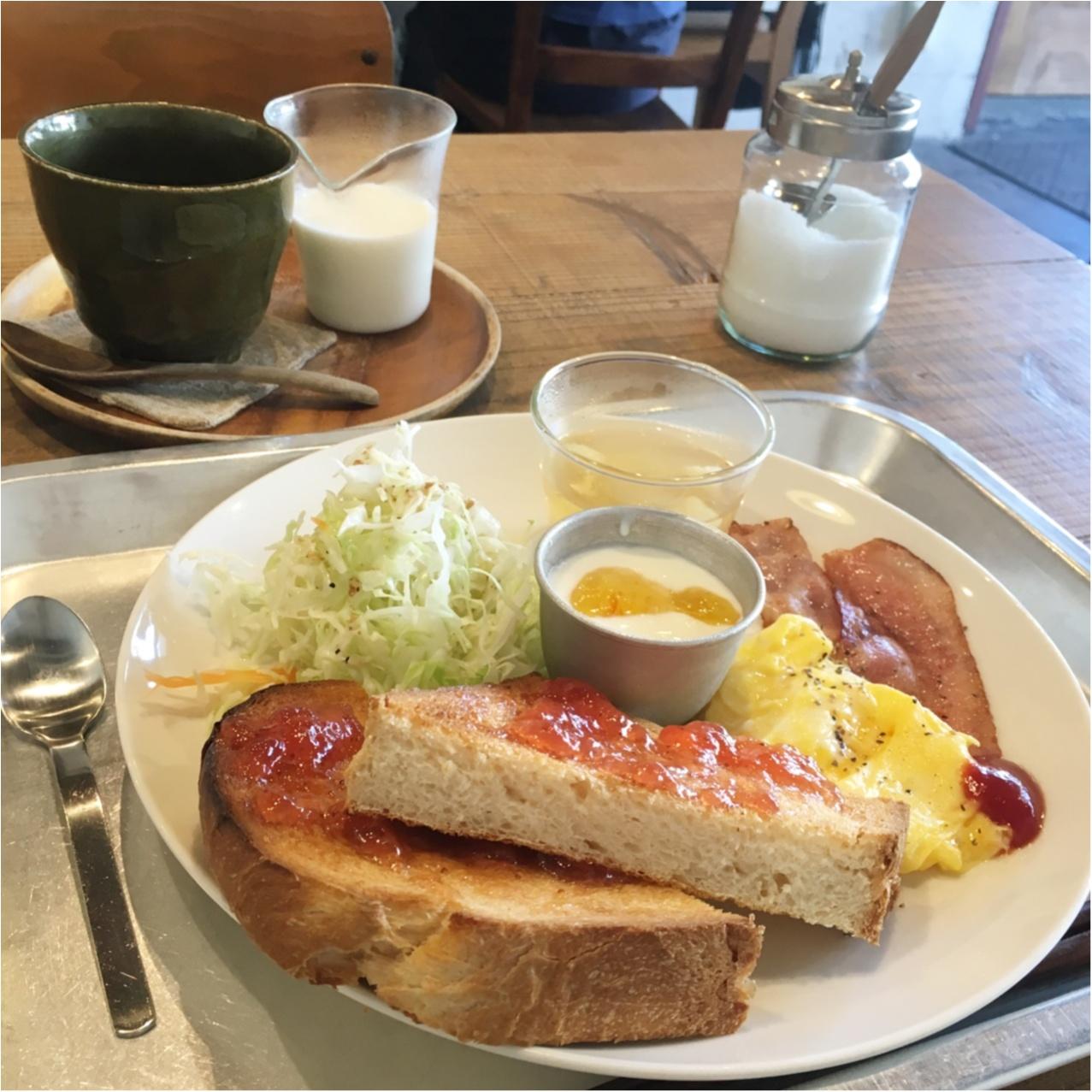 一日の始まり ♪ ナチュラルカフェでほっこり朝ごはん♡_4